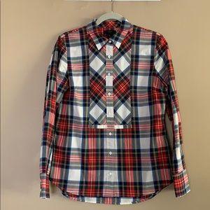 JCrew Holiday Plaid Shirt
